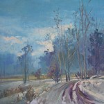 The first Snow 28X40