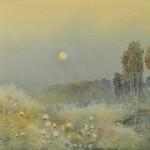 Jajouei Fall season 15 x 22 inches ,Water color ,  - Copy