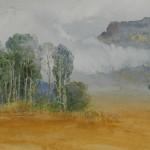 Jajouei Hossein Ful sumer ,12 x 14 inches,Watercolor